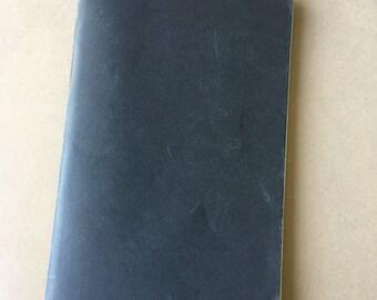 High Quality Hand Bound Linen Notebooks x3