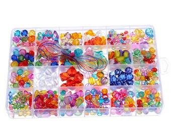 1 Beads kit transparet 19*13cm