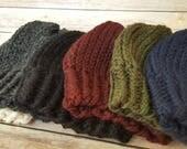 Men's Winter Hat, Men's Beanie Hat, Dock Worker Hat, Dock Worker Beanies, Winter Beanie Hats, Wool Beanie Hat, Ready To Ship