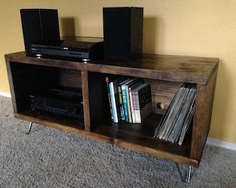 Custom Vinyl Record, TV, Media, Entertainment Console