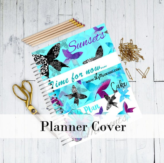 personalized planner cover watercolor planner cover best