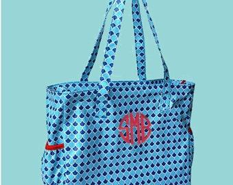 Monogrammed Diaper Bag