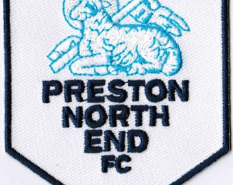 Preston North End FC Football England Embroidered Patch
