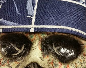 Star Wars Lucasfilm Camelot Fabrics Skull Cap Helmet Lined Du Rag hat chemo cap surgical hat motorcycle biker head wrap Do Rag
