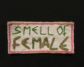 The Cramps patch - Hand embroidered