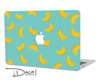 "Banana macbook decal macbook skin macbook sticker Macbook Air 11, Macbook Air 13 & Mac Pro 13 Retina, Macbook 12"", Macbook Pro 15 Retina"