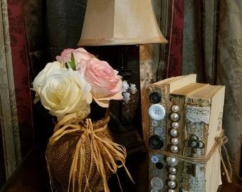 Uncovered Books - decorative books - wedding centerpiece - vintage wedding decor.