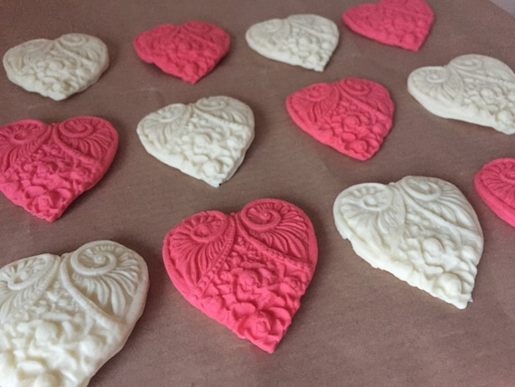 Valentines Day Edible Hearts Cupcake Toppers Page Three ...