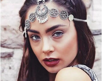 Bohemian Casual Silver Head Jewelry