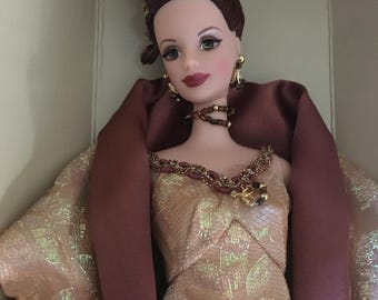 1997 the official barbie collectors club cafe society barbie