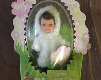 "Mattel Kelly Doll ""MELODY"" Easter eggie as a little lamb new in packaging"
