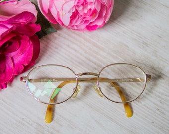 Vintage glasses christian dior, glasses CD, gold frame, glasses, sunglasses, dior glasses frames ladies vintage, woman timeless glasses gold color