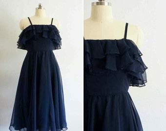 1950s Wilhite midi dress | vintage 50s dress | vintage party dress