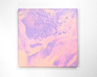 10x10 Summer Acrylic Painting