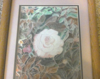 ROSE FRAMED ART