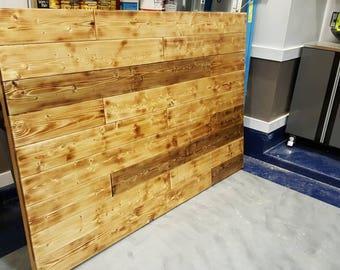 Farmhouse panel headboard