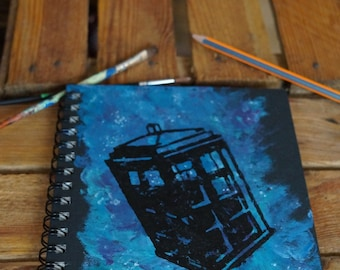 Tardis Sketchbook A5