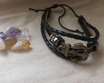 Men's Genuine Leather Bracelet