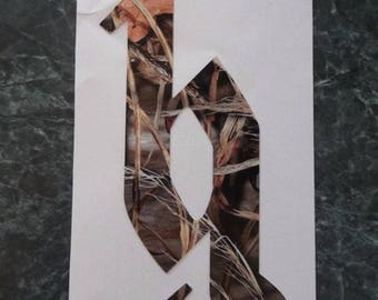 Brantley Gilbert bg logo decal camo small size
