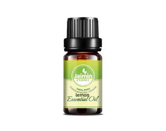 Lemon Essential Oil - Jaimin Essence - Pure Lemon Oil - Aromatherapy Oil - Therapeutic Grade - Pure Essential Oil