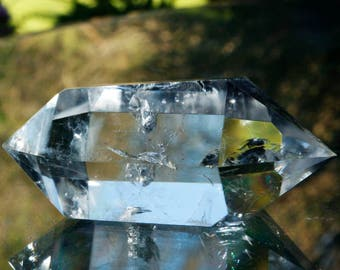 """3"""" Double Terminated Clear Quartz Crystal Point"""