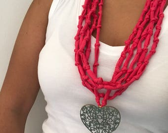 Beautiful Knotted Necklace