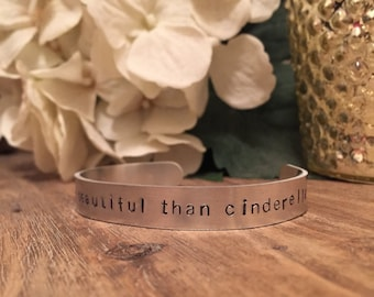 You're More Beautiful Than Cinderella, Bridesmaids Bracelet, Bridesmaids Gifts, Bridesmaids Movie, Gifts for Her, BFF, Bridesmaids Quotes