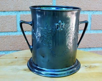 Old pewter ice bucket