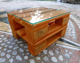 Mini table-table Pallets Desing by FLAB