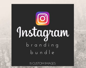 Instagram Branding bundle, branding, social media branding, social media, logo, small business, lularoe, posh