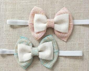 Baby Headband,Baby Girl Headband,Baby Bow Headband,Newborn Headband,Baby Girl Hair Accessories.