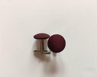 Cuff links for Bordeaux shirt