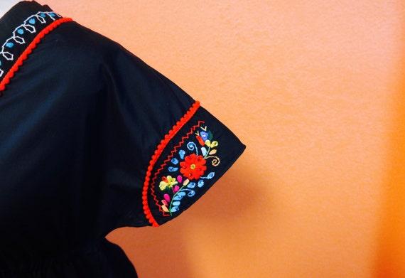 Veronica Prida Embroidered Fiesta Dress -Size Small