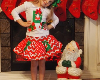 Custom Boutique Tutu Skirt and Applique Shirt size 3t Ready to Ship