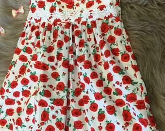 Size 1 Poppy dress.