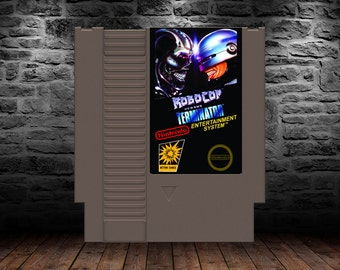 RoboCop vs Terminator - Classic Side Scrolling Sci-Fi Action - NES - Unreleased