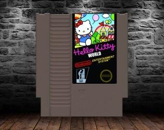 Hello Kitty World - English Translated - High Soaring Balloon Action Comes Home - NES