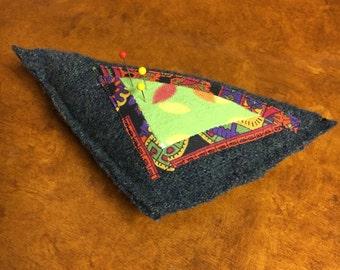 Retro Leaf Garden Pin Cushion
