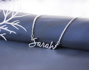 Custom Name Necklace-Personalized Necklace-Custom Necklace -Personalized Name Jewelry -Nameplate Necklace -Birthday Gift -Font Name Necklace