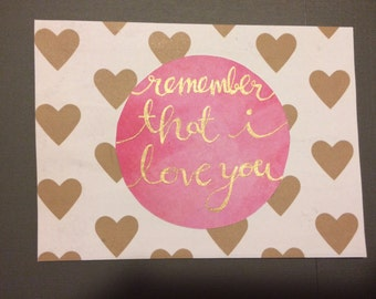Romantic Card- For Girlfriend
