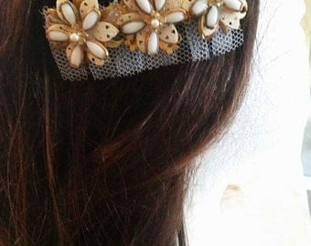Wedding hair barrette