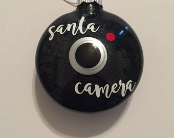 Santa Camera Ornament *Free Shipping*