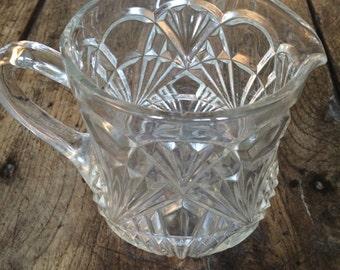 Charming vintage french milk jug.