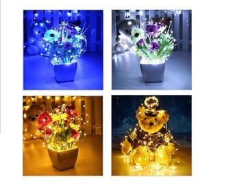 Led Fairy String Lights For Eiffel Tower Vase : Eiffel tower vase Etsy