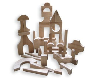 SPECIAL SHAPES 51 Piece Block Set