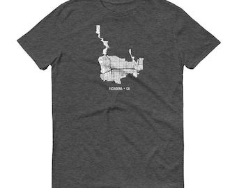 Pasadena Shirt, Pasadena CA, Pasadena TShirt, Pasadena Gift, Pasadena Tee, Pasadena Map, California Shirt, California Map, Pasadena Art