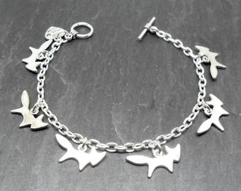 Foxy Loxy Fox Charm Bracelet