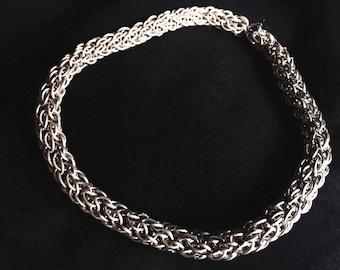 Massive silver chain