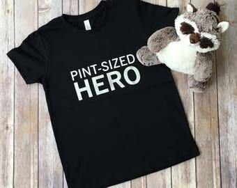 Pint-Sized Hero - Kids Cancer Shirt