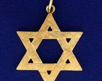 Jewish Star Pendant